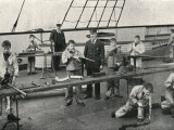 Carpentry and Plumbing, Training Ship Wellesley, North Shields Photographic Print by Peter Higginbotham
