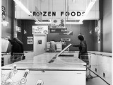 Frozen Food Shop, 1970s Impressão fotográfica