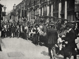 Petticoat Lane Market, East End of London Photographic Print by Peter Higginbotham