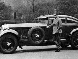 Captain Woolf Barnato with His Bentley Reproduction photographique