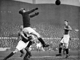 Arsenal Vs. Mansfield Town, F.A. Cup Fourth Round, 1929 Fotografisk trykk