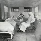 Mab Ambulance Interior, London Photographic Print by Peter Higginbotham