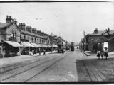 Gordon Terrace, Saltaire, Metropolitan Borough of Bradford, West Yorkshire Lámina fotográfica