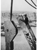 Bridge Building America Fotografie-Druck