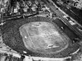 Aerial View of the F.A. Cup Final at Stamford Bridge, 1922 Fotografisk trykk