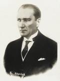 Mustafa Kemal Ataturk (1881 - 1938) Lámina fotográfica