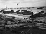 D-Day - Supplies Pour Ashore Photographic Print by Robert Hunt