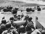 D-Day - Landing in France - Omaha Beach Photographic Print by Robert Hunt