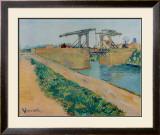 The Drawbridge at Arles Prints by Vincent van Gogh