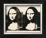 Double Mona Lisa, c.1963 Pôsters por Andy Warhol