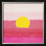 Sunset, c.1972 (hot pink, pink, yellow) Poster by Andy Warhol