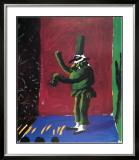 Pulcinella with Applause No. 107, 1980 Posters por David Hockney