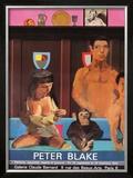 Galerie Claude Bernard, c.1984 Pôsters por Peter Blake