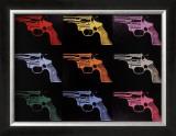 Gun, c.1982 (many/rainbow) Pôsters por Andy Warhol