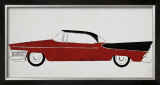 Car, c.1959 Print by Andy Warhol