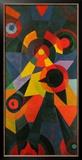 Vogelthema , 1918 Posters por Johannes Itten