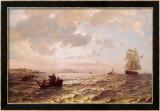 Brezza fresca Stampe di Hans F. Gude