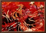 Perle ai porci, fiori alle fiamme Poster di James Rosenquist