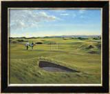 St. Andrews 13th - Hole O'Cross (In) Rajoitettu erä kehystettyjä vedoksia tekijänä Peter Munro