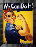 We Can Do It! (Rosie the Riveter) Kunst von J. Howard Miller