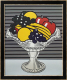 Still Life with Crystal Bowl Posters par Roy Lichtenstein