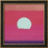Sunset, c.1972 (hot pink, purple, red, blue) Kunstdrucke von Andy Warhol