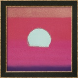 Sunset, c.1972 (hot pink, purple, red, blue) Prints by Andy Warhol