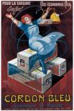 Cordon Bleu Giclée-tryk af Henry Le Monnier