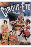 Cirque d'Ete Lámina giclée