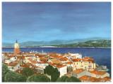 Saint Tropez Print by Gerard Malon