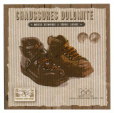 Chaussure Dolomite Posters