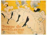 Eglantine Giclee Print by Henri de Toulouse-Lautrec