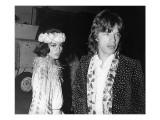 Mick Jagger and Bianca Jagger Art