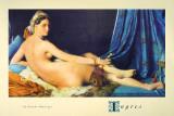 La Grande Odalisque Kunstdrucke von Jean-Auguste-Dominique Ingres