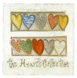The Hearts Collection Poster by Roberta Ricchini