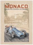 Grand Prix Automobile d'Europe, c.1955 Poster by Bruno Pozzo