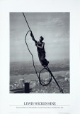 Icarus Atop Empire State Posters por Lewis Wickes Hine