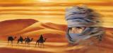 Caravan II Print by Ali Mansur
