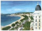 Cannes Print by Gerard Malon