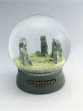 Stonehenge Buildings in a Snow Globe Photographic Print