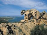 Rock Formations at the Coast, Capo D'Orso, Palau, Sardinia, Italy Fotografie-Druck von A. Vergani