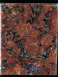 Close-Up of a Red Granite Rock Photographic Print by A. Rizzi