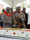 Zimbabwean President Robert Mugabe Photographic Print by Desmond Kwande