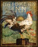 Rooster Sign I Arte por Paul Brent