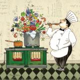 Chef Soup Posters par Pamela Gladding