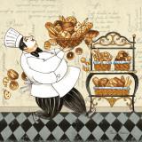 Chef Bread Affiches par Pamela Gladding