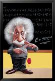 Einstein: E=Mc Poster