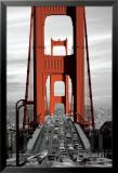Golden Gate Bridge - San Francisco Kunstdruck