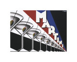 Martini Giclee Print by Steve Forney