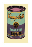 Campbell's Soup Can, 1965 (Green and Purple) Giclee Print by Andy Warhol